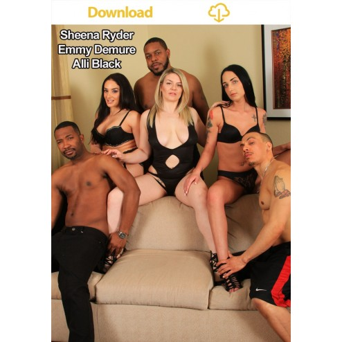 Sheena Ryder, Emmy Demure and Alli Black AVN Orgy (Download)